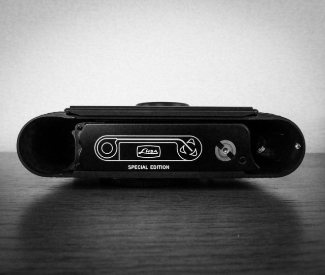 Leica Mp 3 Black Paint Lhsa Special Edition