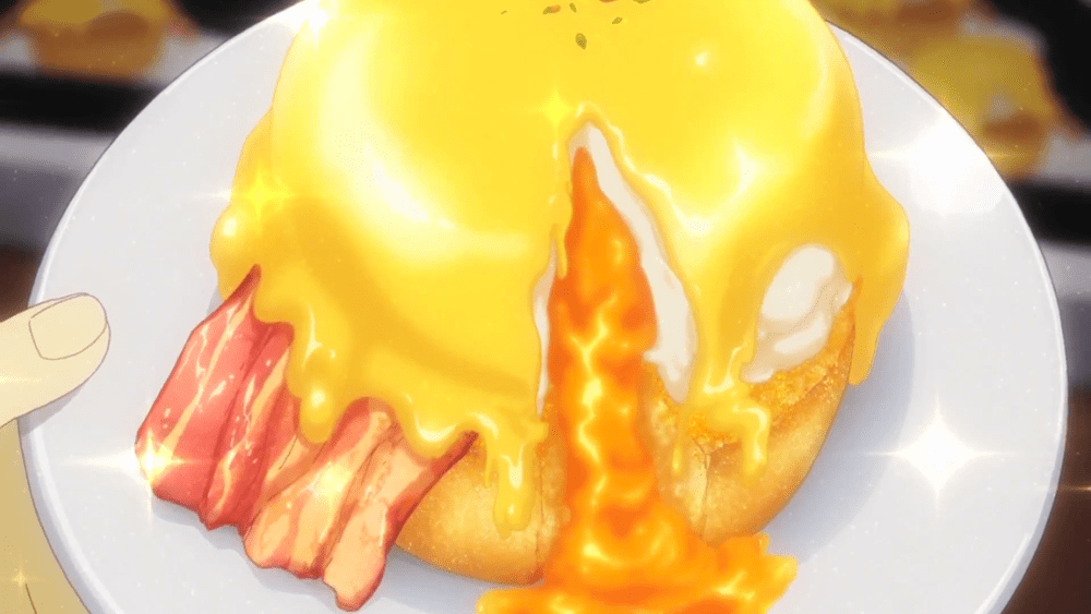 Food Wars Eggs Benedict