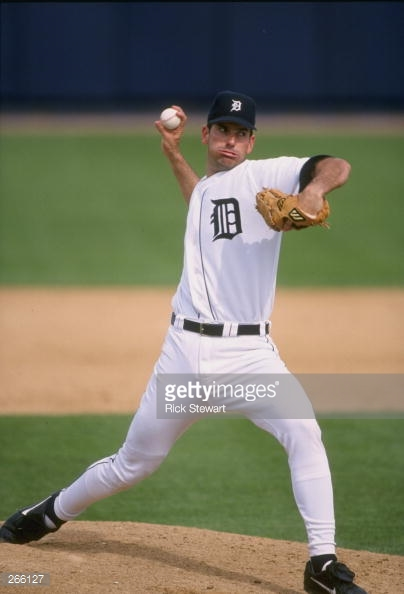 Bill Hurst during Spring Training for the Detroit Tigers - 1998