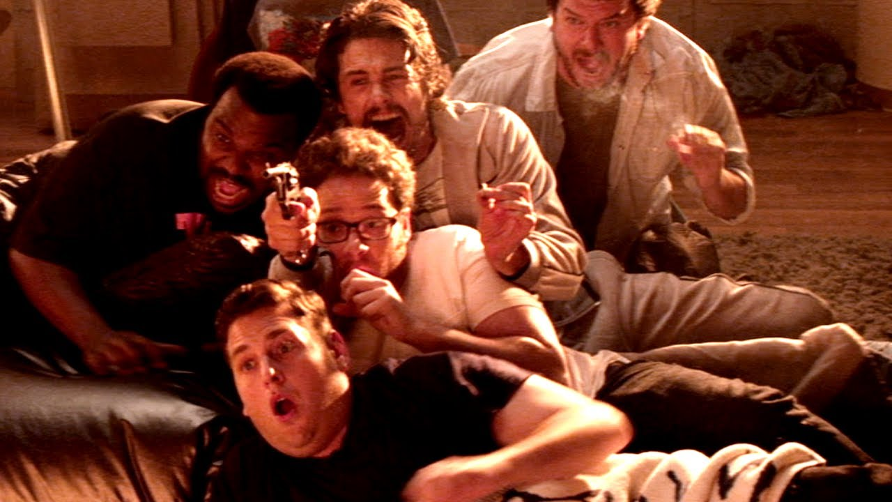 DESCRIPTION: While attending a party at James Franco's house, Seth Rogen, Jay Baruchel and many other celebrities are faced with the Biblical Apocalypse. This is funny while sober, and hysterical when stoned. It's not scary for the viewer if anything the stoned conversation following the movie about the Apocalypse will be scarier than the movie itself, but by popular vote it made the list.