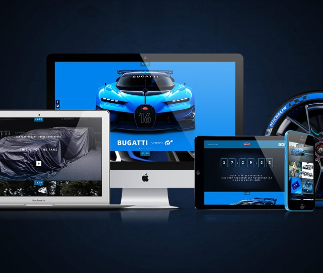 An Immersive Microsite Became The Hub Of All Activity Ultimately Hosting The Live Streamed Unveiling Of The Fully Operational Bugatti Vision Gt At The
