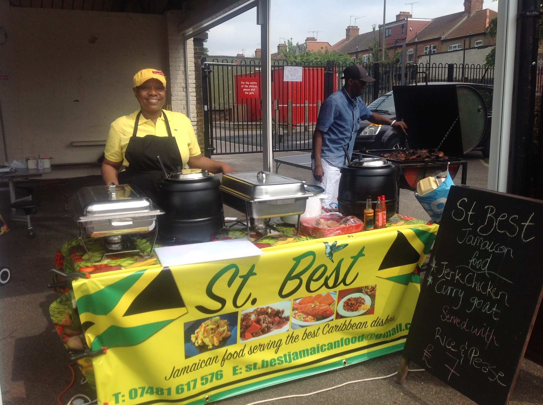 St Best Jamaican food