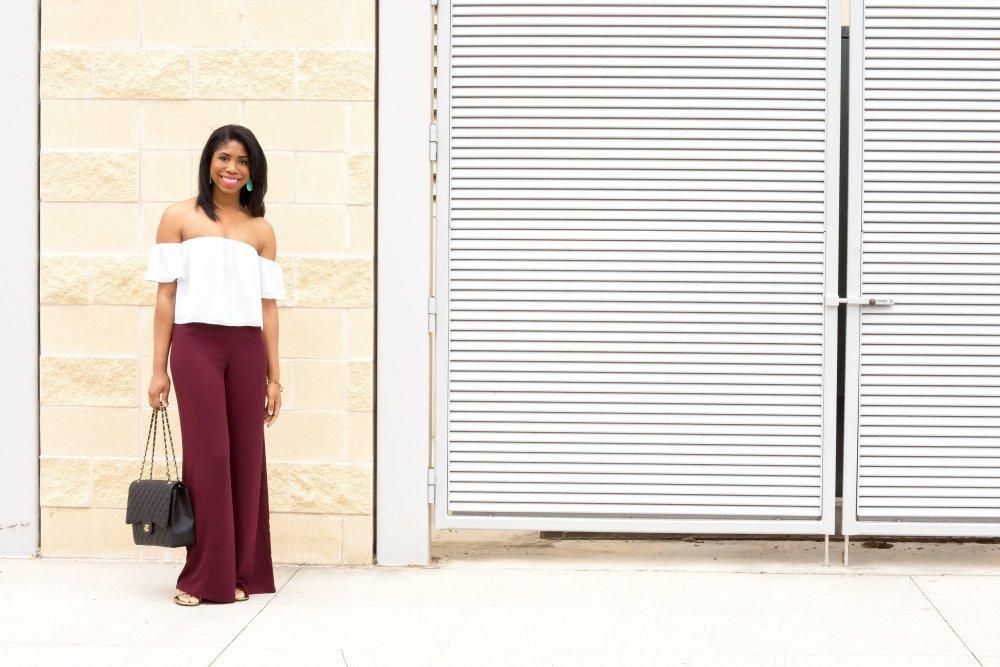 cold shoulder off the shoulder top dallas fashion blogger stephanie taylor jackson