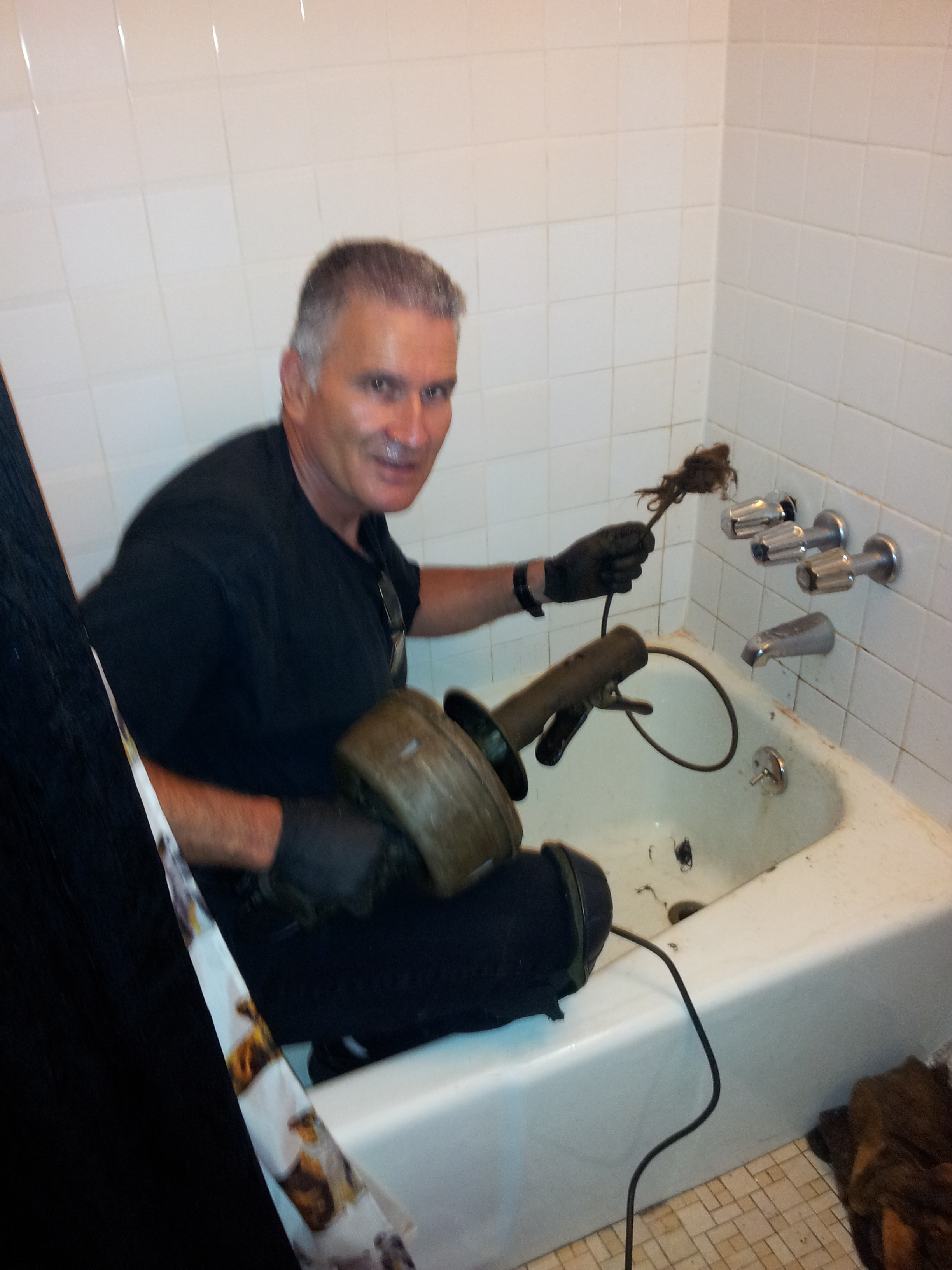 Clogged Toilets Bathtubs Amp Showers The Drain Medic