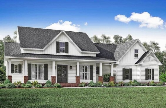 Top 10 Modern Farmhouse House Plans