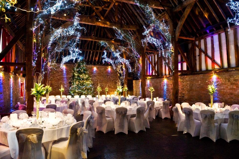 Christmas Weddings Cooling Castle Barn