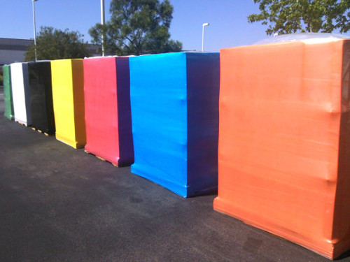 Logo Printed Pallet Wrap Stretch Films For Wrapping BEE