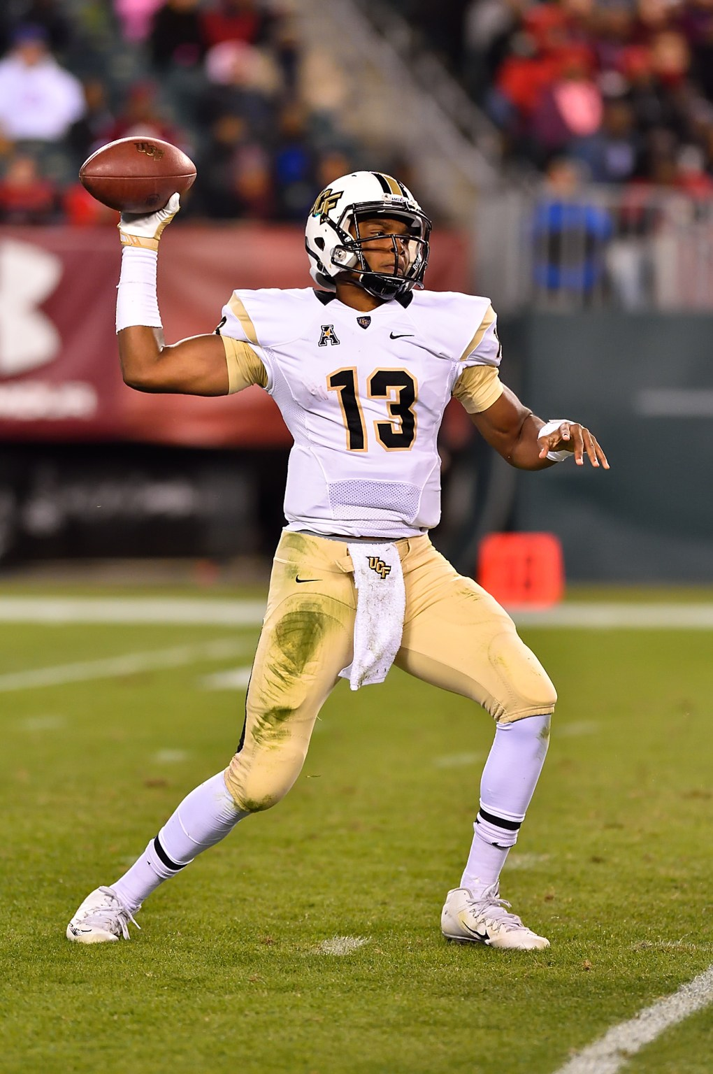 Senior quarterback Justin Holman will be starting in the home and season opener on Sep. 3. Courtesy UCF Athletics Communications
