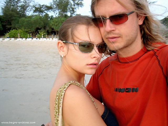 Petter and Luba Hegre (Shumeyko)