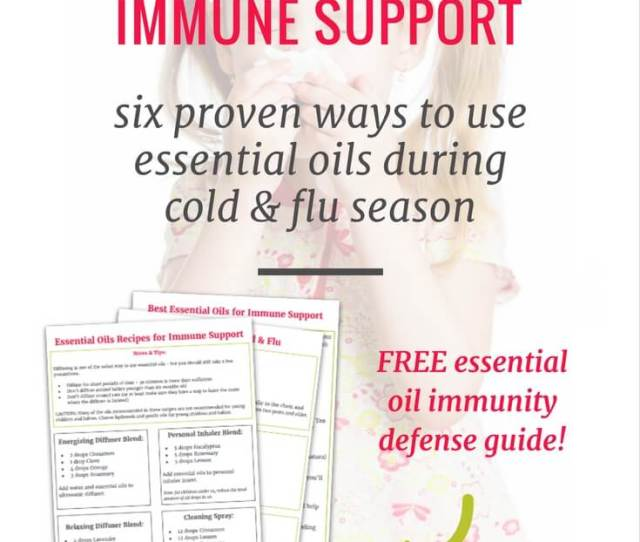 The Best Ways To Use Essential Oils To Boost Your Immune System A Beginners Guide To Essential Oils