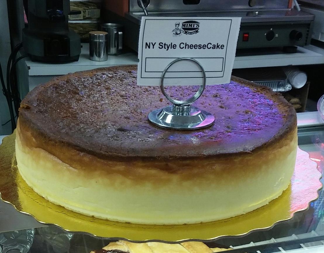 mimis ny style cheesecake