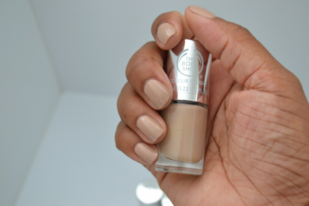 almond kiss vegan nail polish