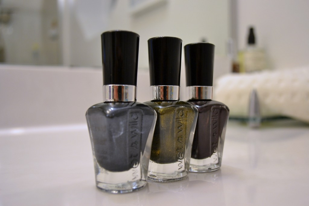 fall metal nail polish