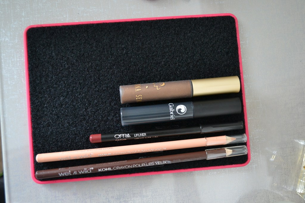 organize your makeup bag