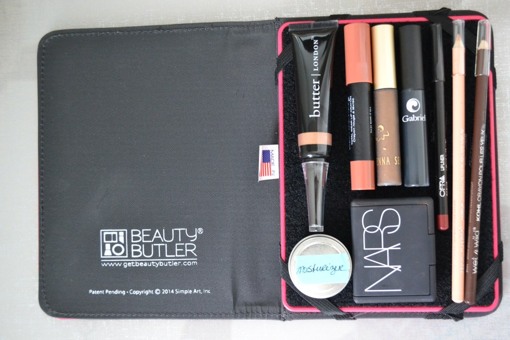 organized beauty butler
