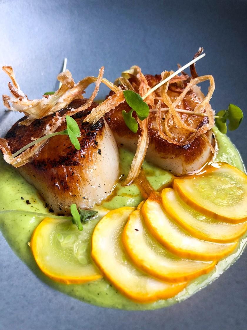 Salero Restaurant: Sea Scallops a la Plancha