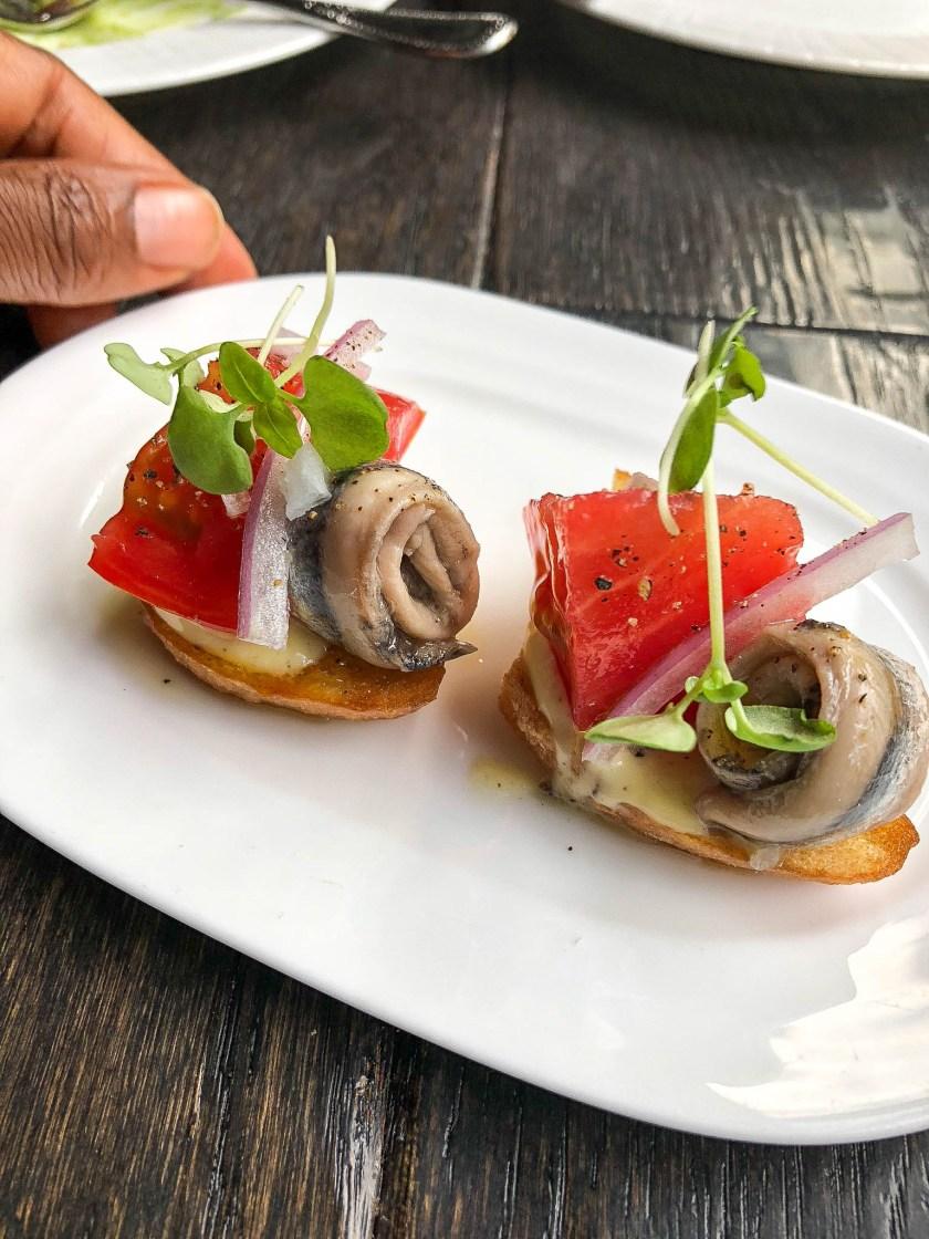 Salero Restaurant: Pan Con Tomate