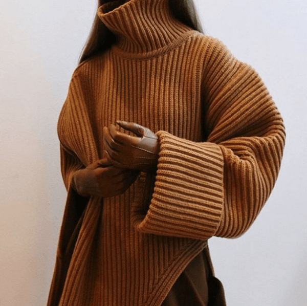 knitGrandeur: Caramel Colored