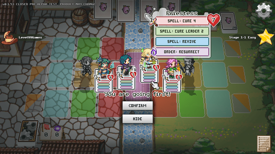 Announcing Pixel Tactics Online      Level 99 Games Pixel Tactics Online is more than just a digital re implementation of the  tabletop card game  The game is rebalanced  retouched  and optimized for  digital