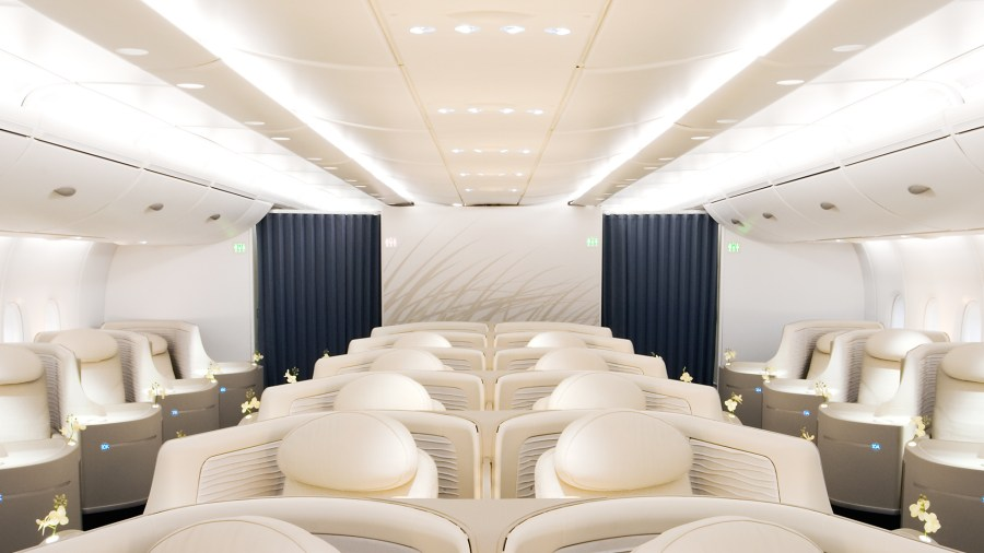 DESIGNINVESTMENT BUSINESS CLASS A380 for Airbus by swiss aircraft     DesignInvestmentAirbusA380BC2 jpg
