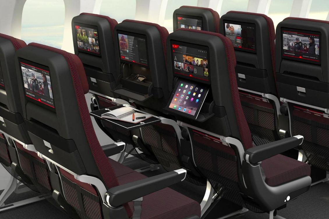 Qantas 787 Economy Class