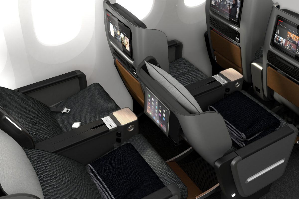 Qantas 787 Dreamliner Premium Economy seating (Source: Qantas)