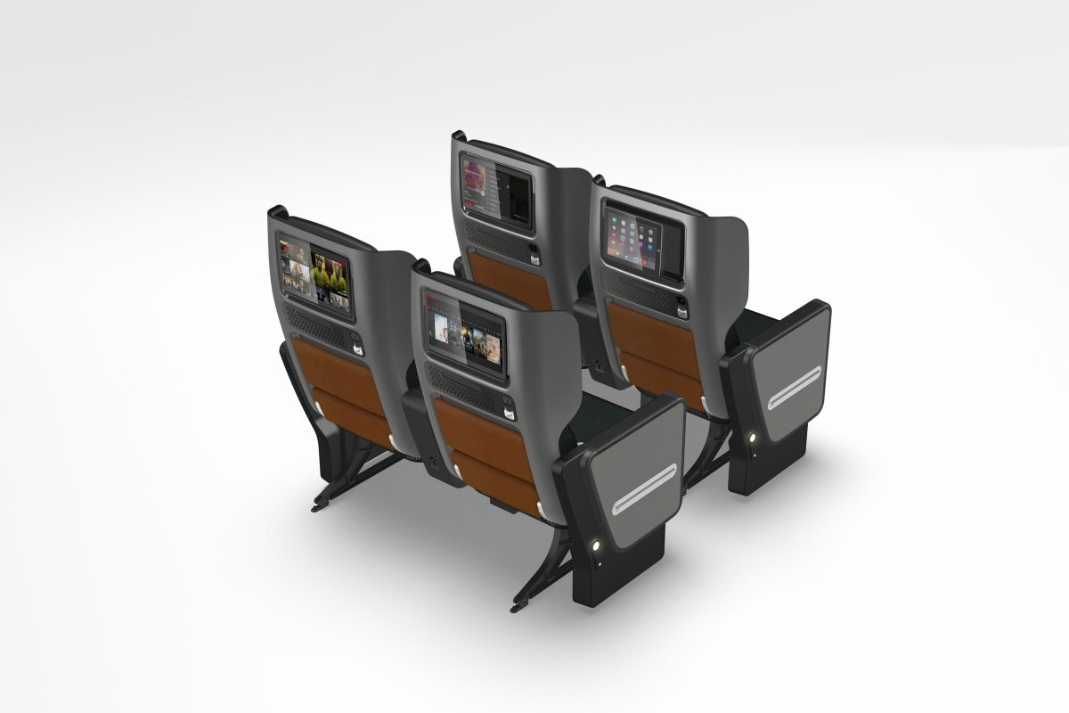 Qantas 787 Dreamliner Premium Economy - Back (Source: Qantas)