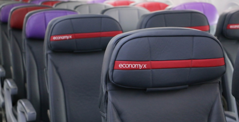 Virgin Australia's new Economy X cabin