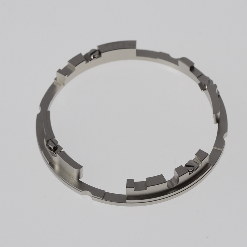 Movement ring housed between case & mvt