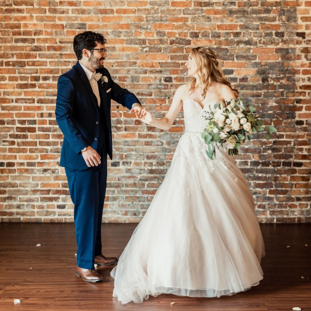 romantic industrial wedding in tallahassee florida