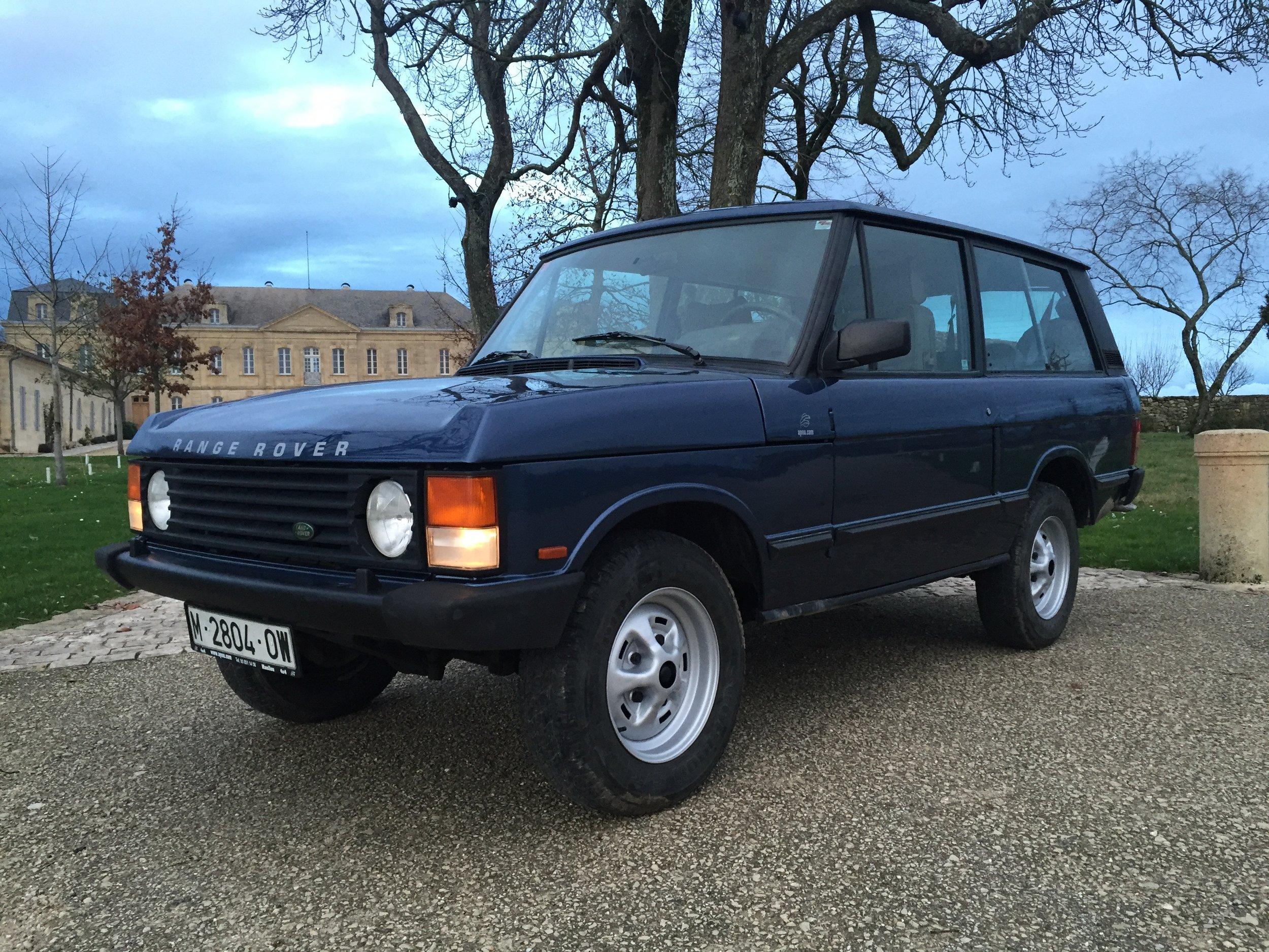 Range Rover 2 Door 1994 SOLD — Samuel Lloyd & Co