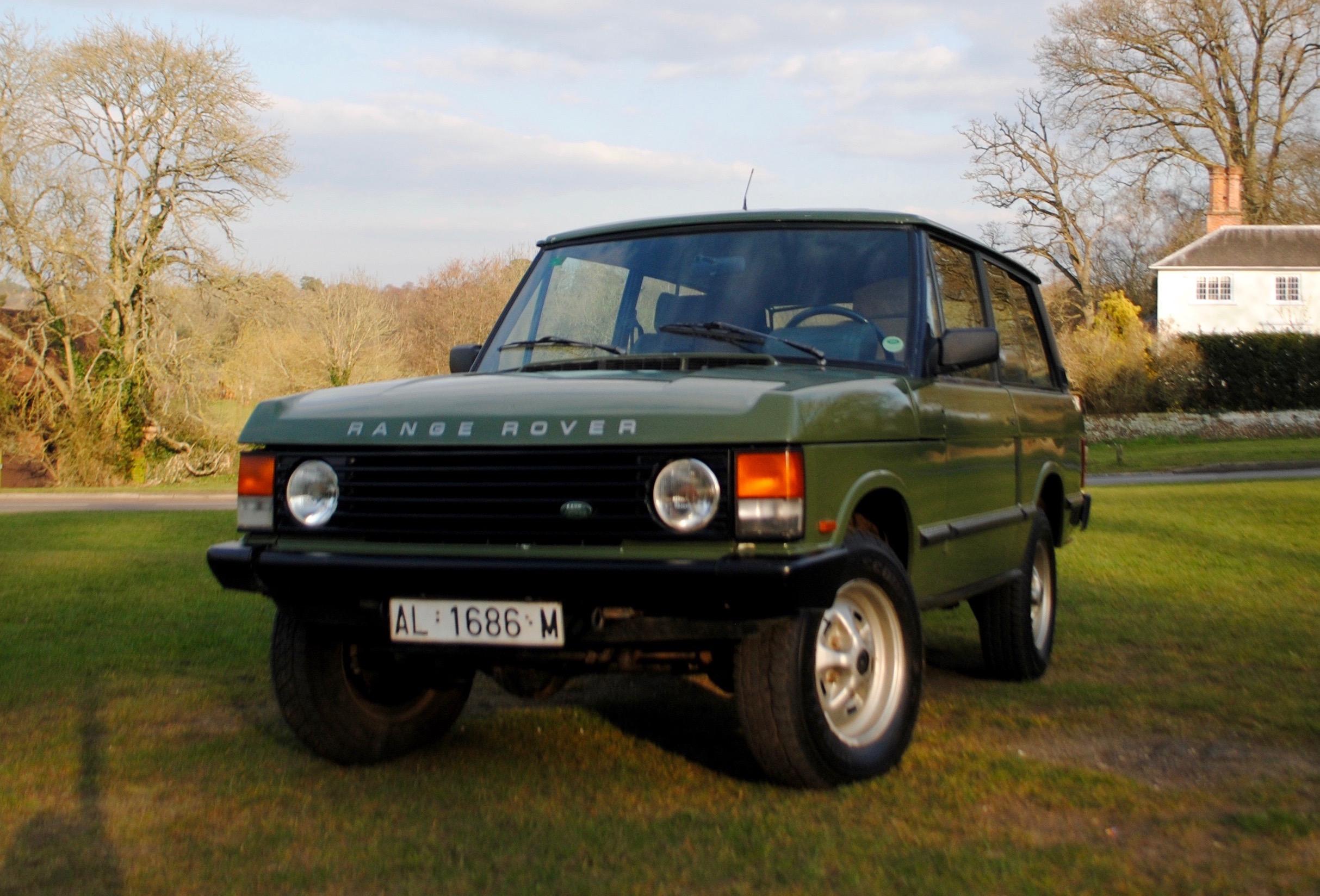 Range Rover 2 Door 1988 SOLD — Samuel Lloyd & Co