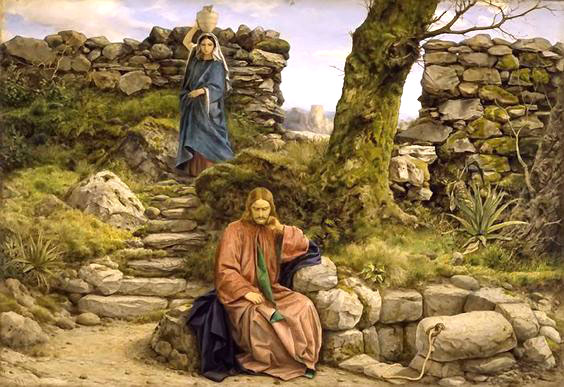 Jesus & the Samaritan Woman (sermon) — Saint John's