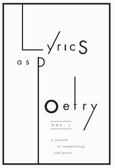 Lyrics as Poetry