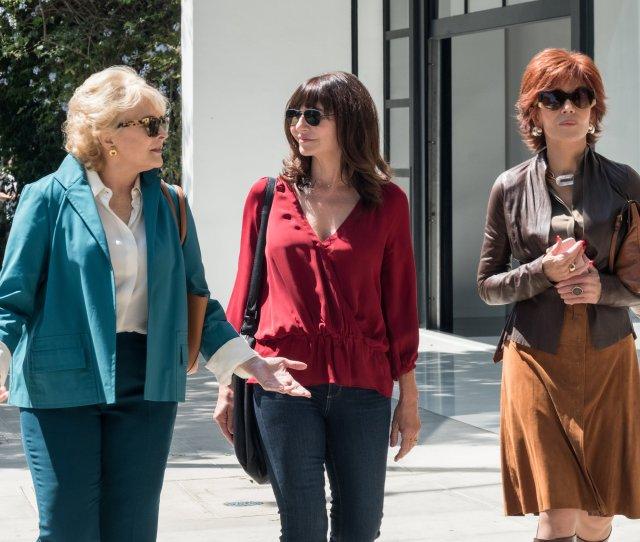 Candice Bergen Mary Steenburgen And Jane Fonda Get Literary In Book Club