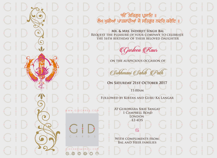 Formal Birthday Invitation Templates