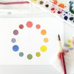 5 Types Of Watercolor Charts Type 3 Color Wheel Susan Chiang