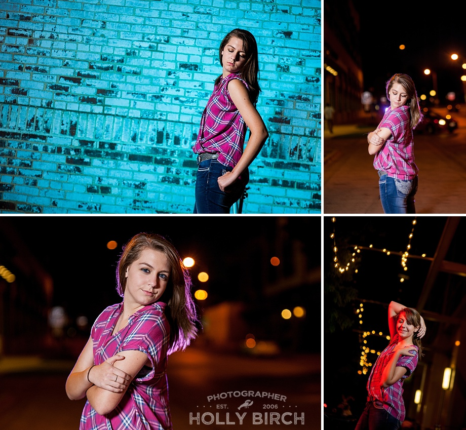 downtown night shoot with MagMod creative gels