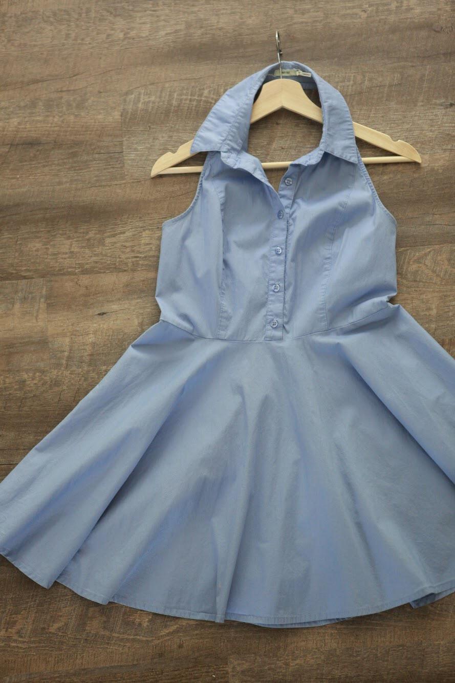 Older dress with a tiny bleach spot near the bottom.