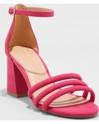 Pretty pink block heels @Target