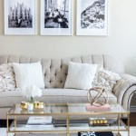 Living Room Tour White Beige Gold Decor H A N A N