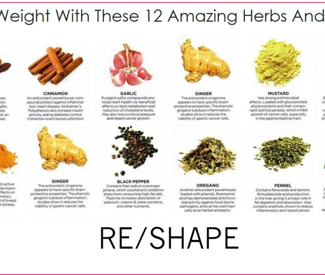 Magic Weight Loss Herbs And Spices
