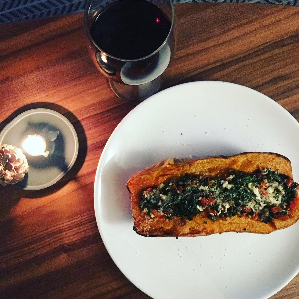 Paris Kitchen: Stuffed Butternut Squash Nourish Paris