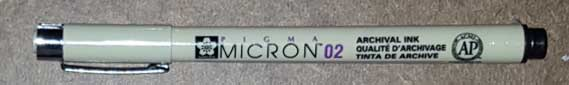 Pigma Micron Disposable Technical Pen