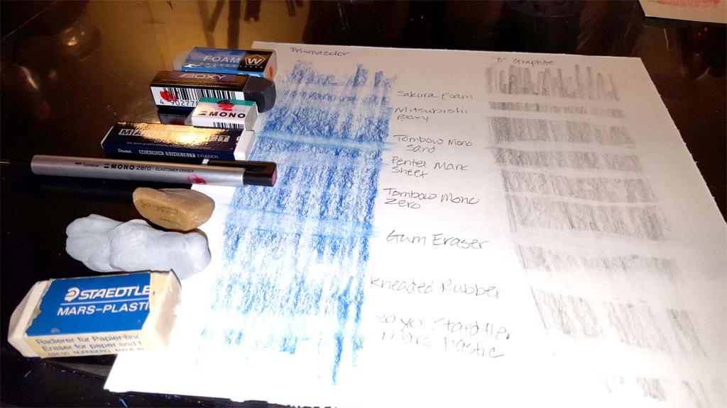 Art Erasers test
