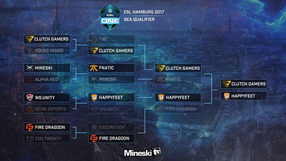 HappyFeet Winners Of ESL One Hamburg SEA Qualifier
