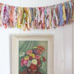How To Make A Scrappy Fabric Rag Garland Simple Creative Home