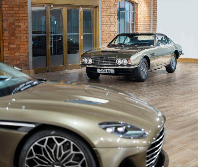 Aston Martin Dbs Superleggera Set To Become The New James Bond Inspired Car