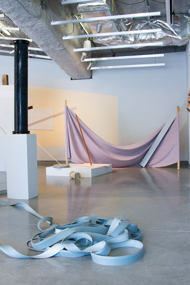 Standing Arrangement  (Installation View), 2019. Image courtesy of University Galleries.