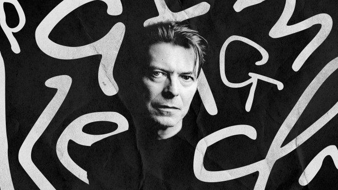 David Bowie font